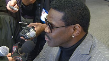 Former Cowboys Player Michael Irvin: I love everything about Falcons player Julio Jones