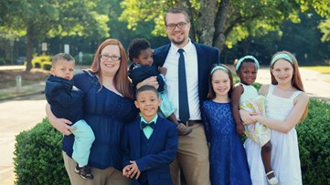 Local father of seven redefines the word 'family'