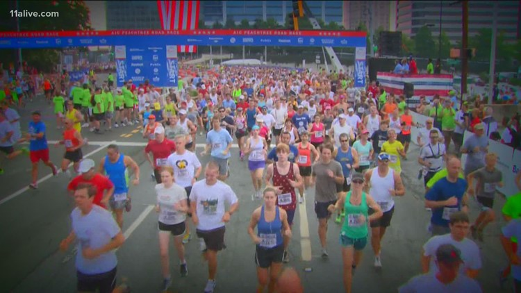 Why is the AJC Peachtree Road Race different this year?