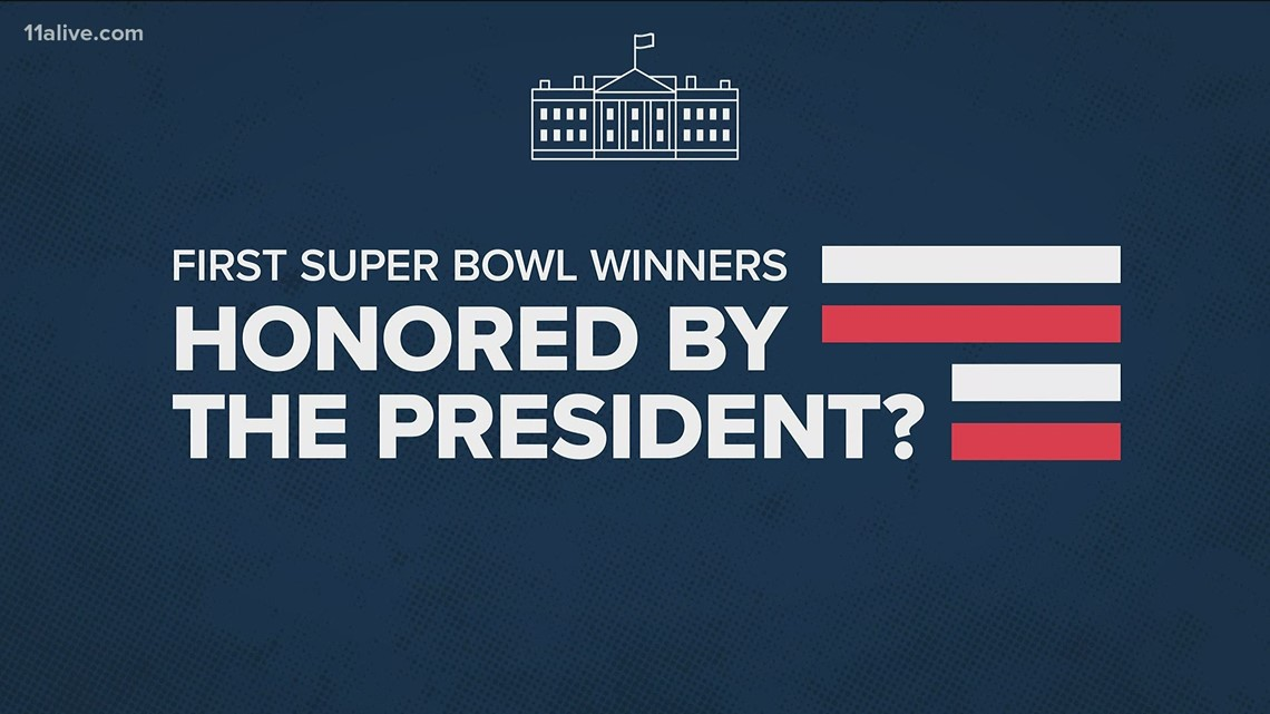 Which president started the tradition of Super Bowl champs visiting the White House?