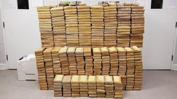 Record $31 million cocaine load seized at Port of Savannah