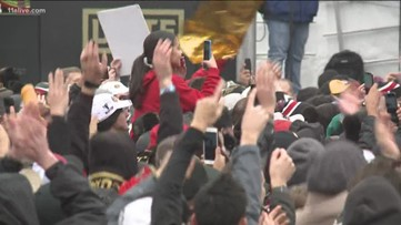 Atlanta United fans brace cold for victory parade