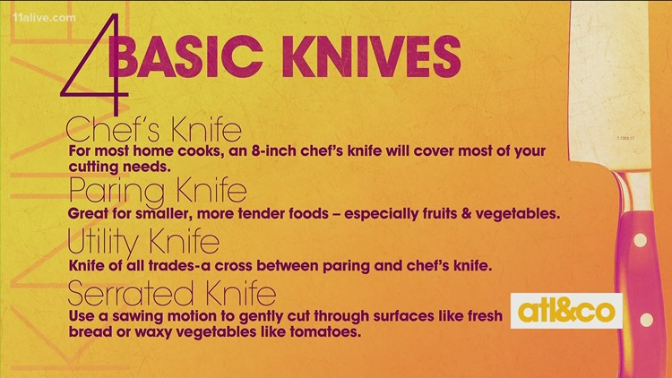 Kitchen Know-How: Basic Knives