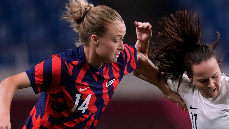 Marietta's Emily Sonnett makes Olympic debut in match against New Zealand