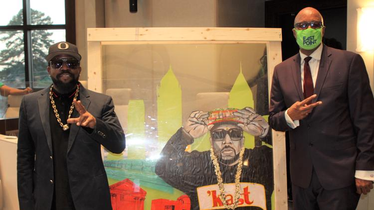 Outkast's Big Boi honored by City of East Point with key to the city, proclamation