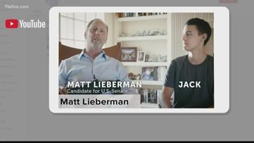 Lieberman parodies Kemp 'gun ad' in campaign spot