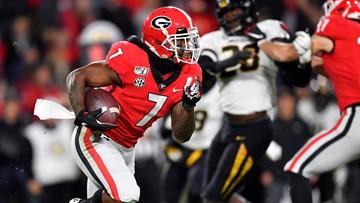 Georgia's D'Andre Swift to forgo senior season and enter NFL Draft