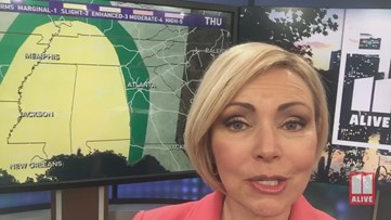 Georgia weather forecast: Severe storms possible Thursday night