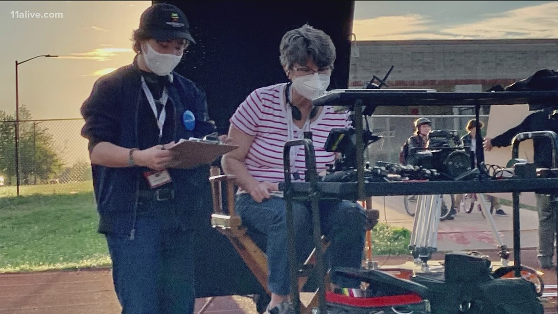 Teen makes dream come true at Atlanta film studio