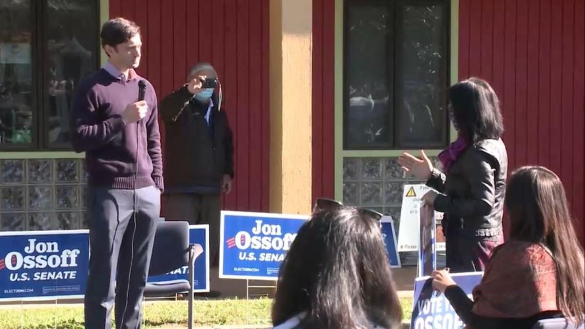 www.11alive.com: Jon Ossoff campaign event at Tsunami in Decatur