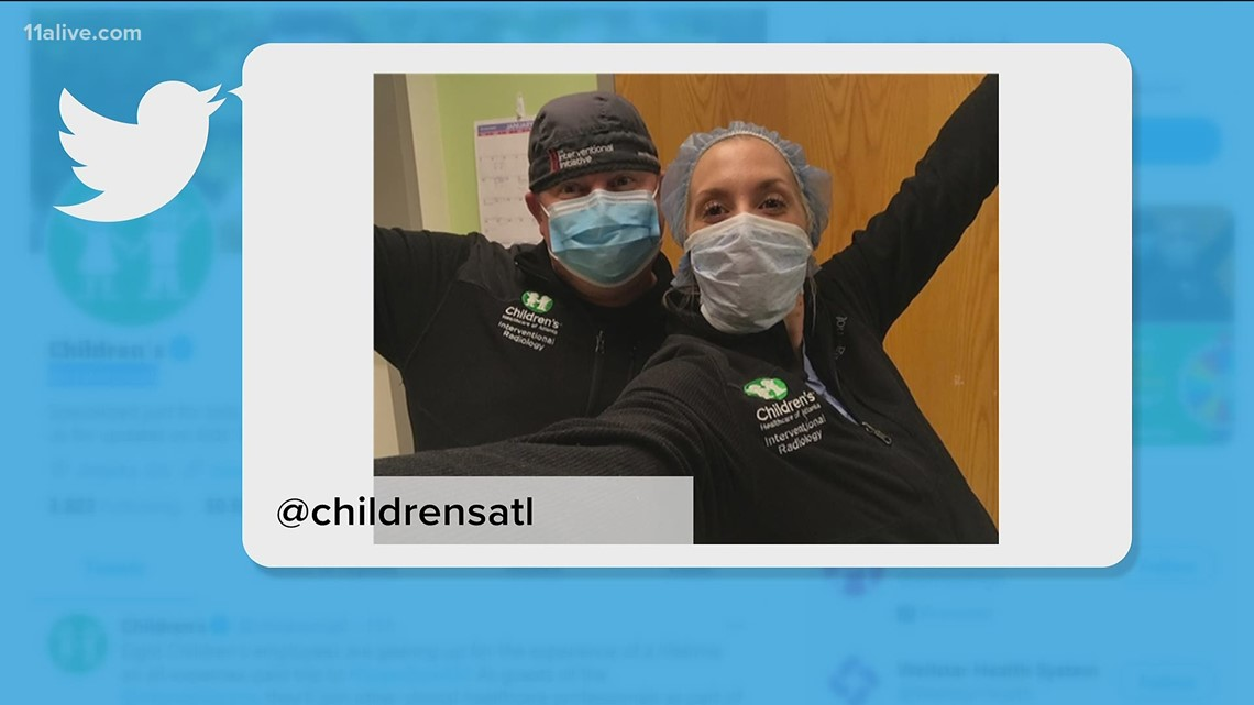 8 Children's Healthcare of Atlanta employees going to the Super Bowl