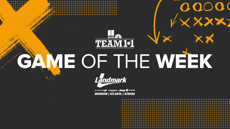 Team 11 game of the week