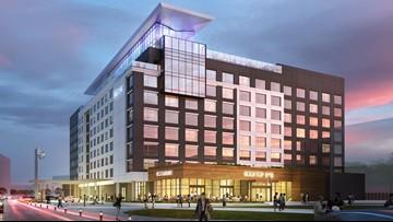 Construction underway on luxury hotel outside Infinite Energy Center
