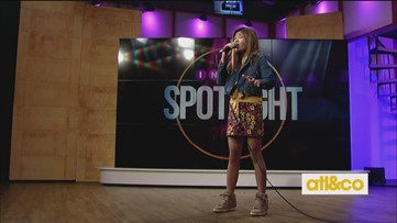 Angelica Hale performs on A&C