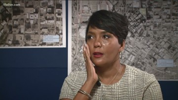 Atlanta mayor tears up while talking about the Atlanta child murders, reexamines case