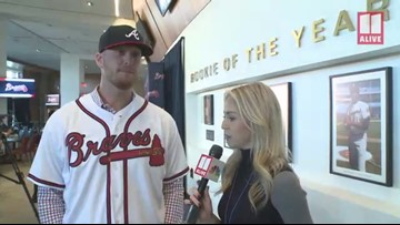 Atlanta Braves' Will Smith glad to be back in home state of Georgia