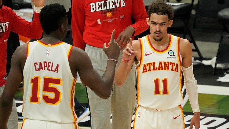 'He loves the bright lights'   Teammates, fans in awe of Trae Young after Game 1