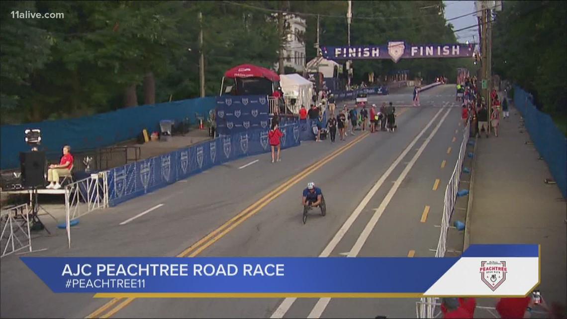 Recap | Wheelchair race winners of the AJC Peachtree Road Race