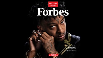 Atlanta rapper 21 Savage lands Forbes 30 Under 30 honor