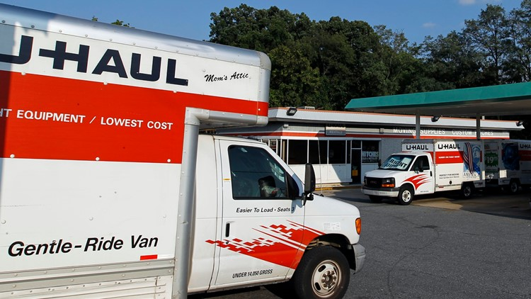 Thieves drill holes into tanks of U-Haul trucks to steal gas, police say