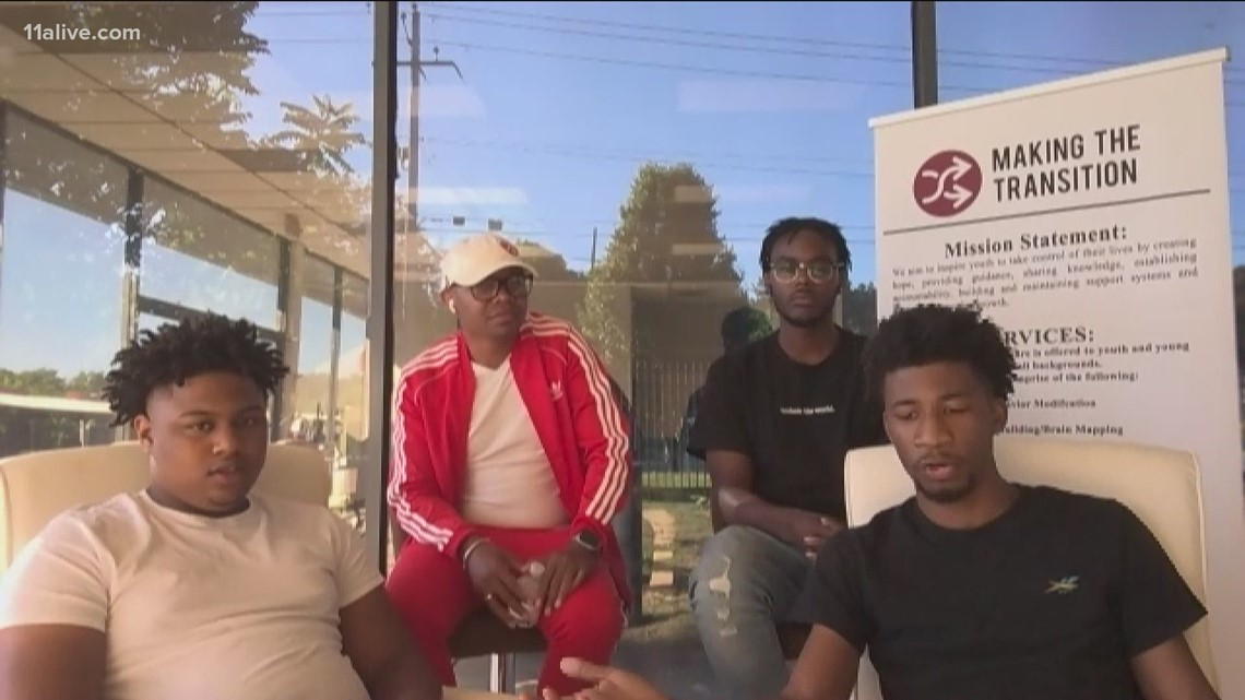 Four young Black men talk about resources to help curb violence in their communities
