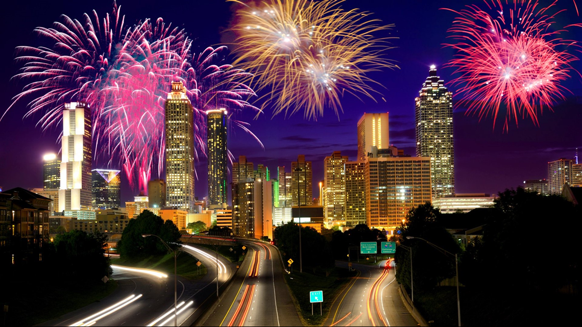 List   Where to watch fireworks on July 4 in metro Atlanta