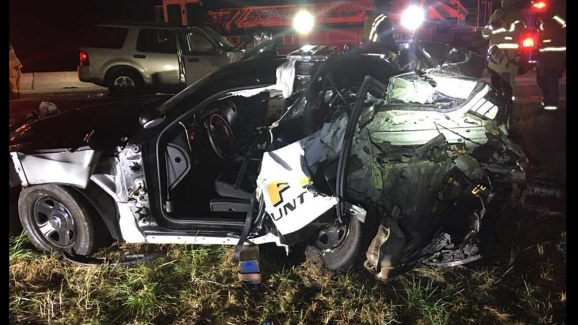 Deputy back on patrol following horrific accident