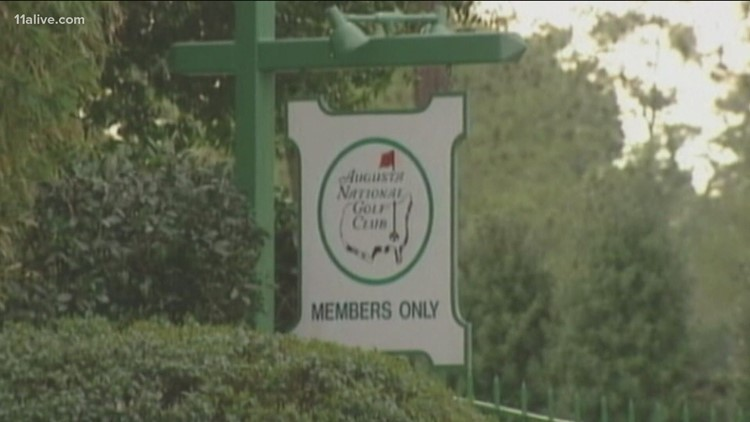 Augusta National chairman faces questions about Georgia's new voting law ahead of Masters