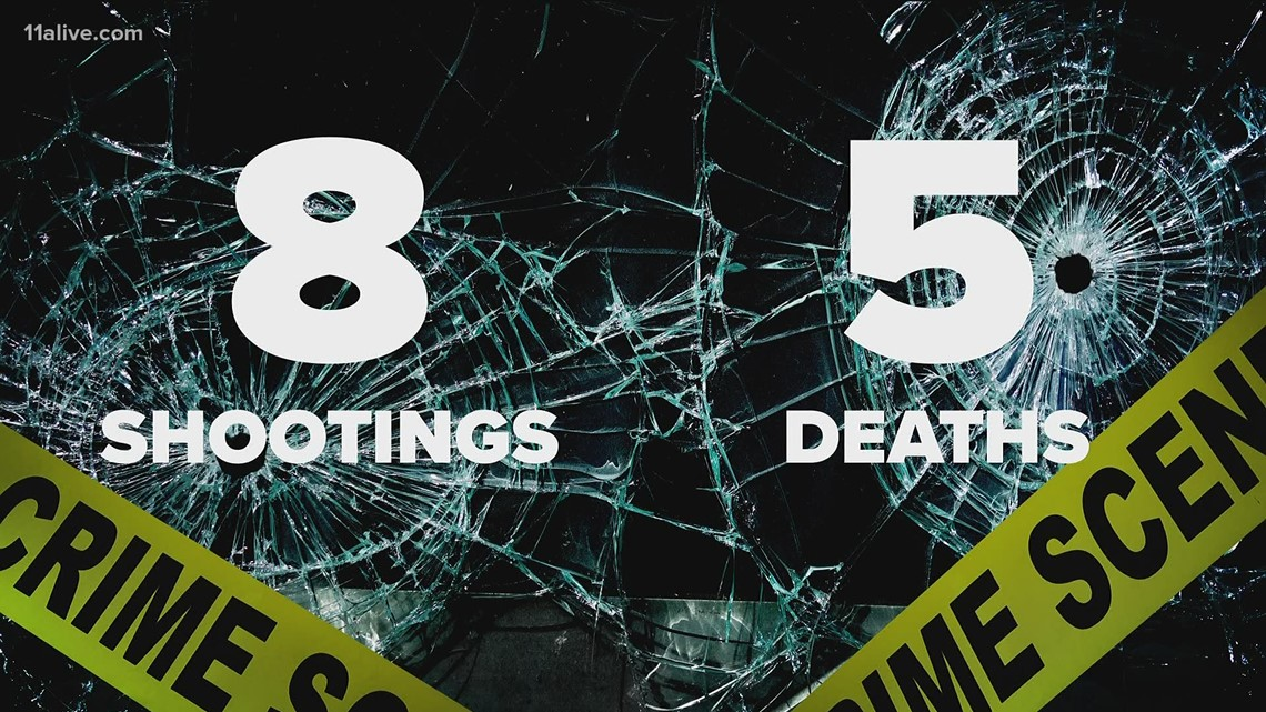 Several interstate shootings in metro Atlanta this year, many deadly