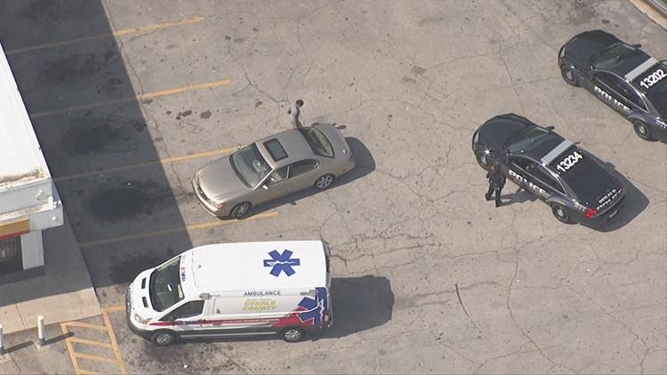 Aerial Footage Person Shot In DeKalb