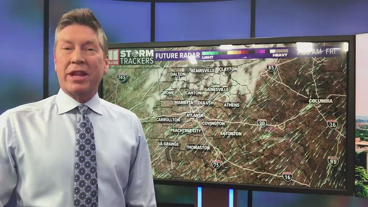 Dry and warmer Friday