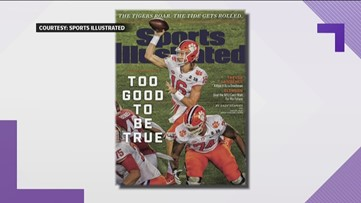 Cartersville native Trevor Lawrence graces cover of Sports Illustrated after Clemson win