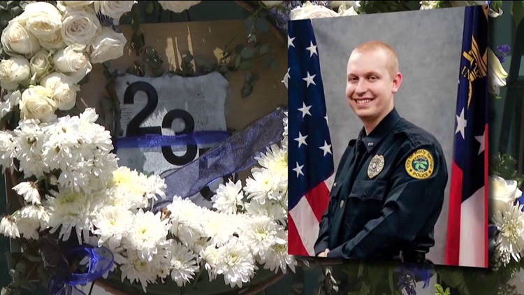 End of Watch Call for Holly Springs Officer Joe Burson