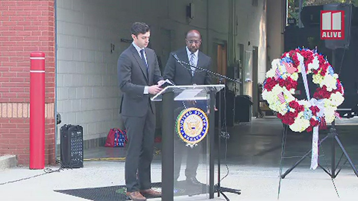 Sen. Jon Ossoff remarks in remembrance of 9/11