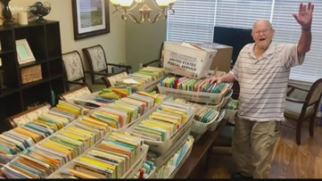 Veteran receives more than 100,000 cards for his 100th birthday