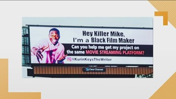 Killer Mike has meeting with man who posted billboard, woman spots four puppies while driving