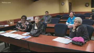 Marietta Police hold town hall to discuss protecting yourself during holiday season
