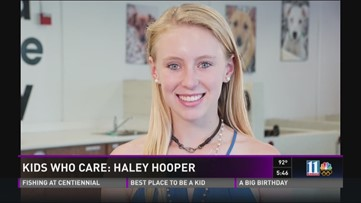 Kids Who Care: Haley Hooper