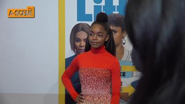 Marsai Martin on bringing movie idea to life, filming in Atlanta, 'Little' premiere