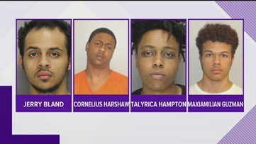 Acworth Police arrest 4 in gas station shooting