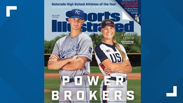 A young Georgia athlete has been featured on the cover of Sports Illustrated