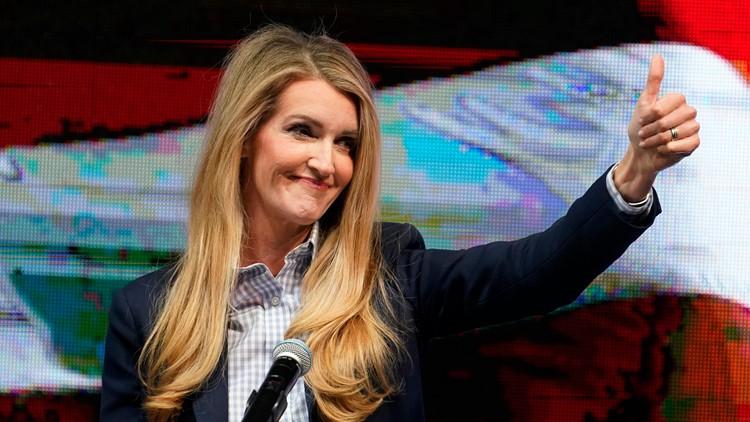 Kelly Loeffler optimistic in speech to supporters