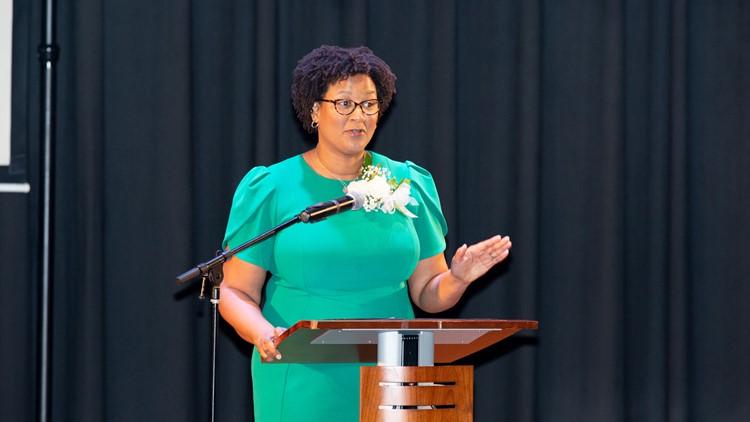 College Park Mayor Bianca Motley Broom