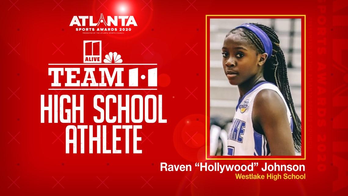 Atlanta Sports Awards | Westlake's Raven Johnson wins Outstanding Team11 High School Athlete