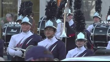 Marietta celebrates state football title with parade through city