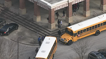 Decatur middle school evacuated for gas leak on campus