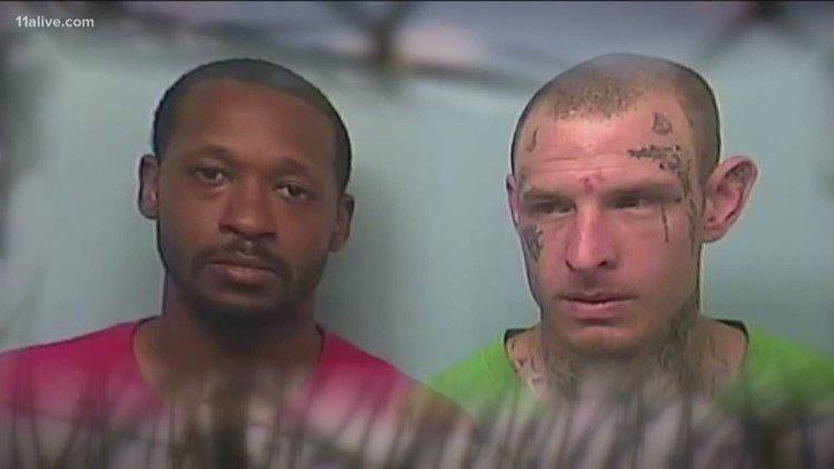 Active search for two Troup County inmates who escaped down a drain ...