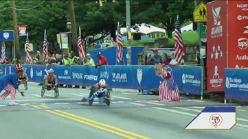 AJC Peachtree Road Race: From start to finish - Part 5