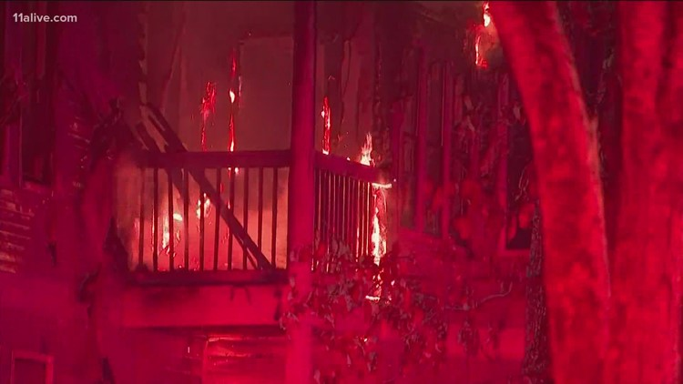 Fire guts entire apartment building, leaves more than 15 residents displaced