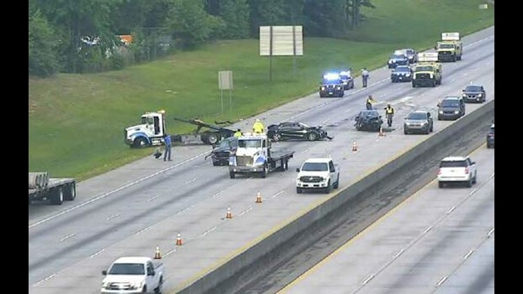 I-20 EB clears after two wrecks cause delays | 11alive com